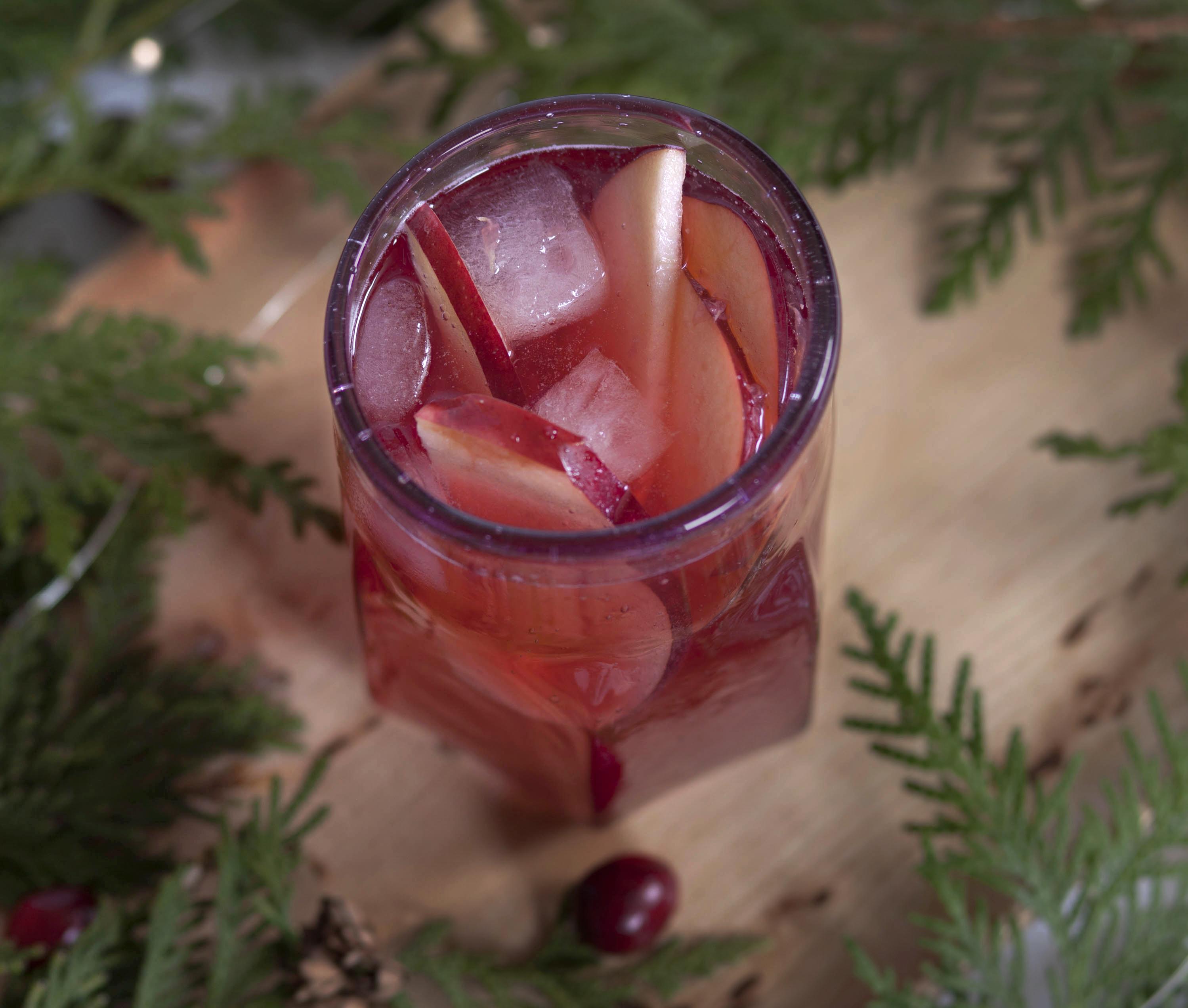 Cranberry Cider Cocktail