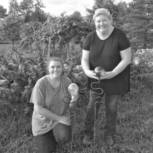 Women With Garden Ornaments