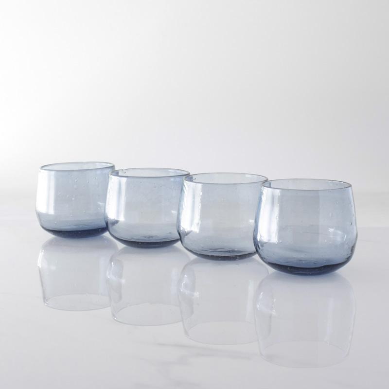 Steel Blue Tumbler Set