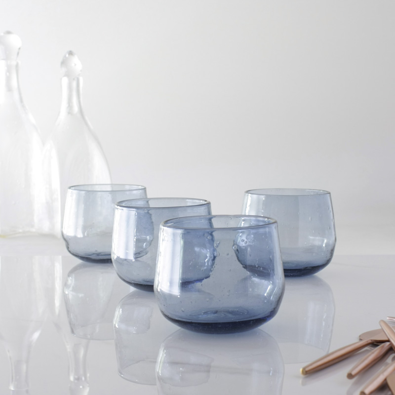 Steel Blue Tumbler Set