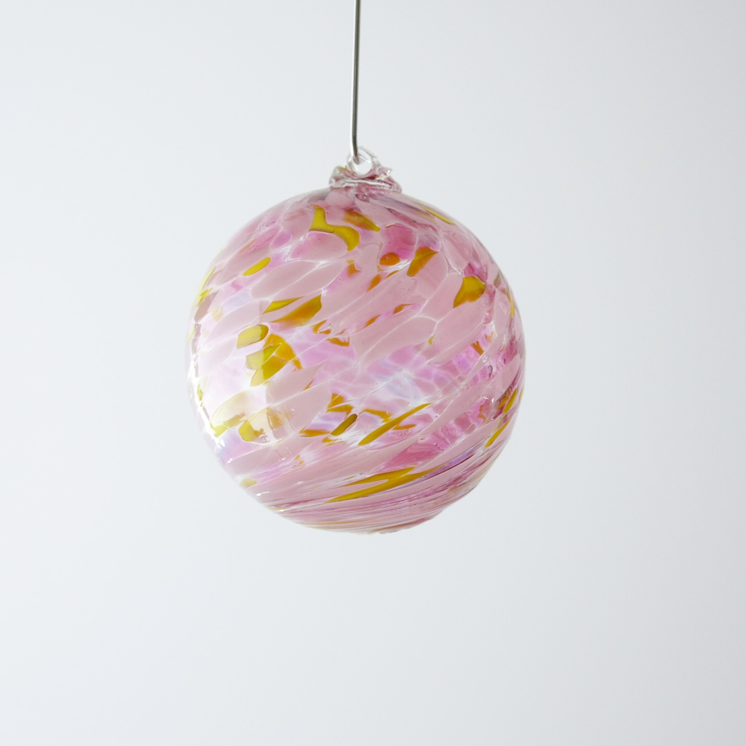 Colourful Glass Onrnament