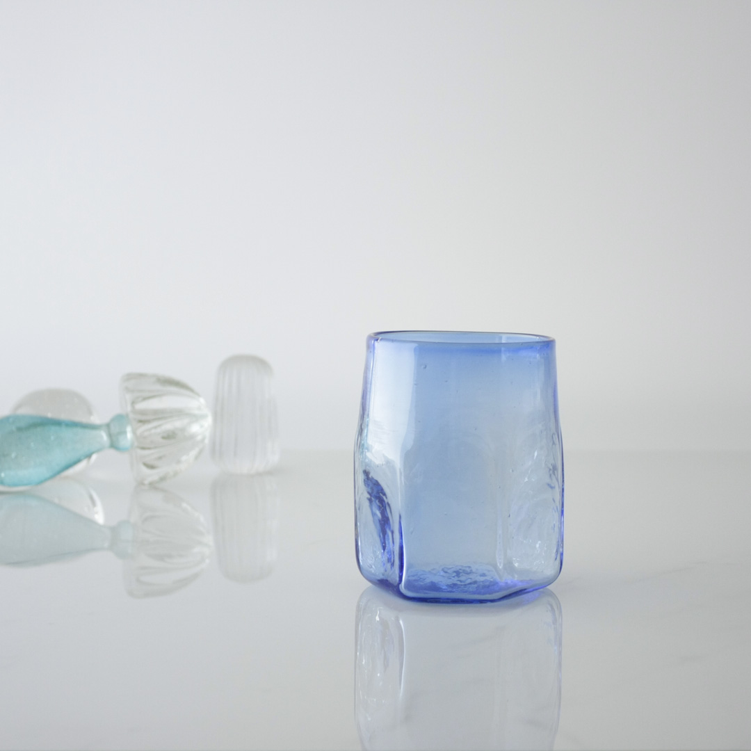 Hexagonal Handblown Glass